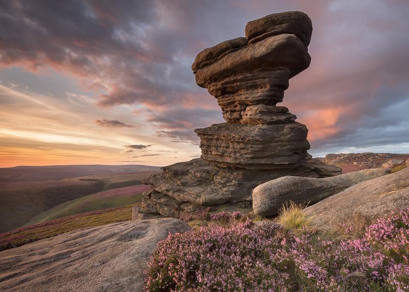 Salt Cellar rock, Derwent Edge