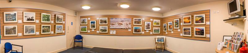 Castleton show panorama
